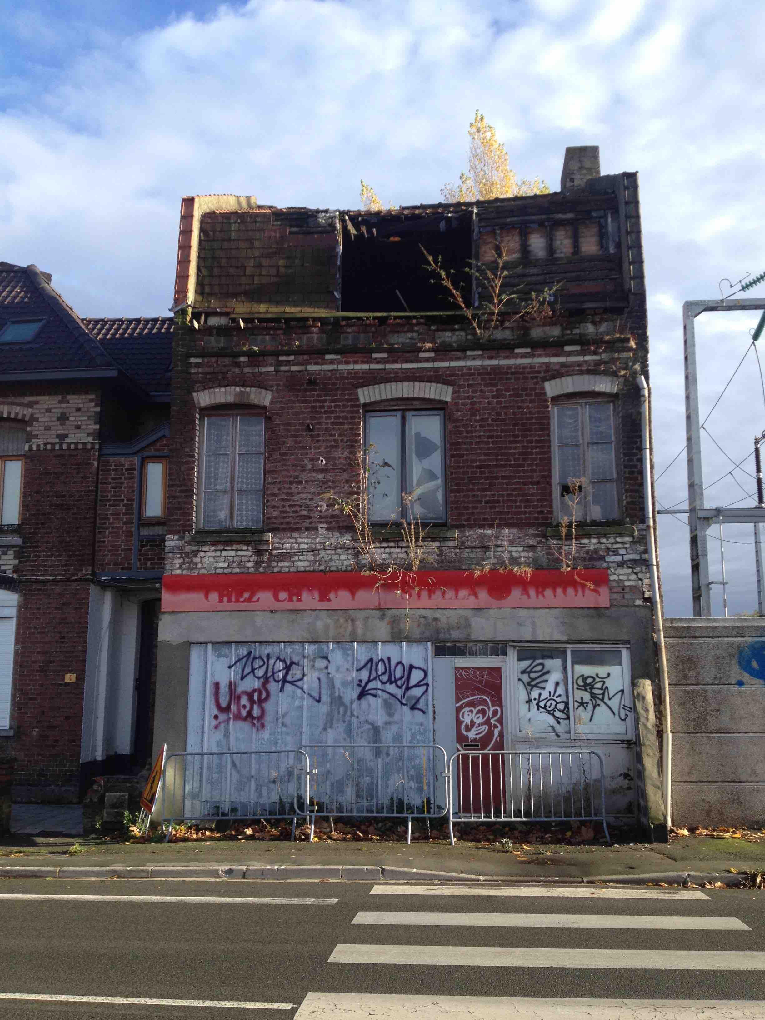 12/11/2018: Immeuble menaçant ruine à Wasquehal